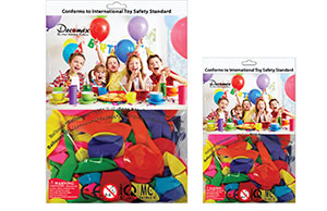 OPP-CPP Packaging with Balloons